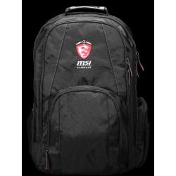 """Τσάντα πλάτης MSI Gaming Series 17.3"""" Μαύρη"""