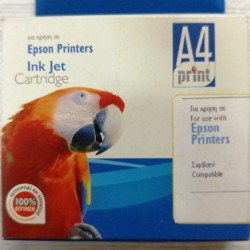 A4print συμβατό με Epson T048420 Stylus Photo R200-R300, RX500-RX600 Yellow