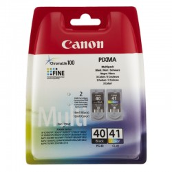 Canon Multi PG-40 Black + CL-41 Color