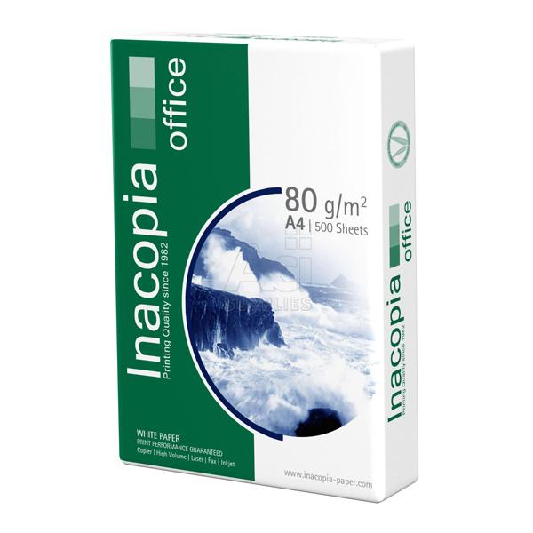 Χαρτί εκτύπωσης Inacopia Α4 80gr 500φ