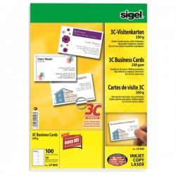 Sigel 3c επαγγελματικές κάρτες Canson 225g