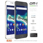General Mobile AndroidOne GM 6 White Gold