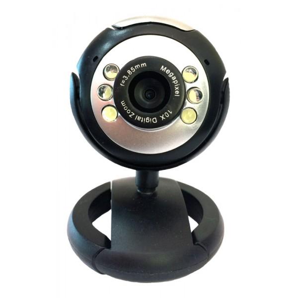 Powertech PT-509 WebCam με μικρόφωνο 1.3MP