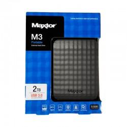 Maxtor M3 Portable Hard Disk 2TB USB3.0