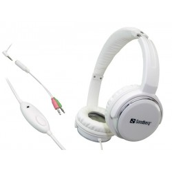 Sandberg Home'n Street Headset White