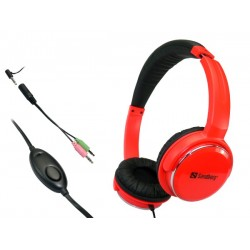 Sandberg Home'n Street Headset Red