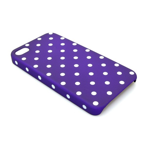 Sandberg Cover 4-4S dot pattern Purple