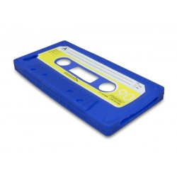Sandberg Cover iPhone 5-5S retrotape Blue