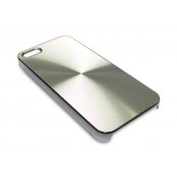 Sandberg Cover iPh 5-5S Alu Circle Silver