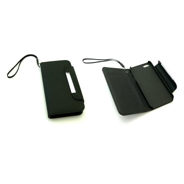 Sandberg Flip wallet iPh 5-5S skin Black