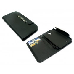Sandberg Flip wallet S4 Magnet close