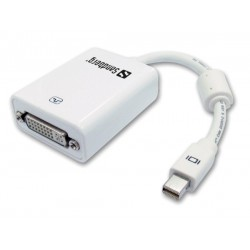 Sandberg Adapter Mini DisplayPort-DVI