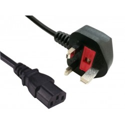 Sandberg 230V Cable UK PC-Wall 1.8 m