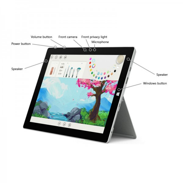 "Microsoft Surface 3 1645 10.8"" 128GB"