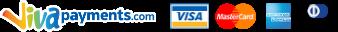 Πληρωμή με πιστωτική ή χρεψστική κάρτα μέσω της Vivapayments.com