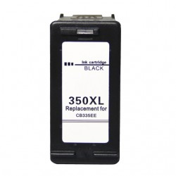 Συμβατό με HP 350XL Black