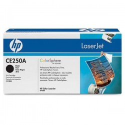 HP CE250X Μαύρο