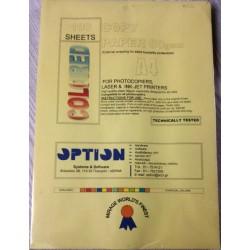 Χαρτί εκτύπωσης Α4 Κίτρινο 80gr 100φ