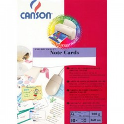 Kάρτες σημειώσεων Canson 200g