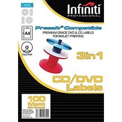 Infiniti (PressIT) ετικέτες για CD και DVD