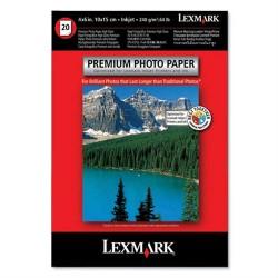 Lexmark premium photo paper 240gr 20φ 10x15cm