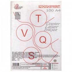 Novoprint ετικέτες 210x297mm γαλάζιο