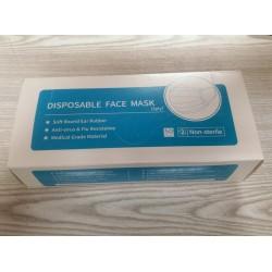 Μάσκα προσώπου μίας χρήσης (50 τεμ)