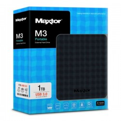 Maxtor M3 Portable Hard Disk 1TB USB3.0