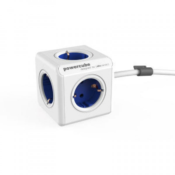 Allocacoc PowerCube Extended Blue