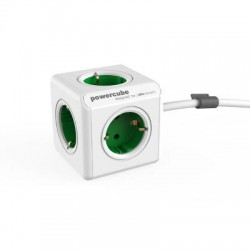 Allocacoc PowerCube Extended Green