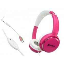 Sandberg Home'n Street Headset Pink