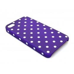 Sandberg Cover 4-4S dot pattern Purple