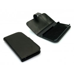 Sandberg Wallet iPhone 5-5S PU skin Black