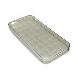 Sandberg Cover iPhone 5-5S squares Black
