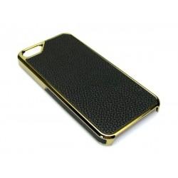 Sandberg Cover iPh5-5S Black skin + Gold