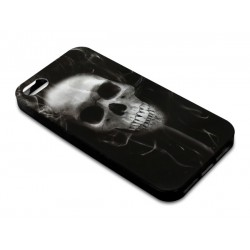 Sandberg Print Cover iPh5-5S Skull Smoke