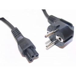 Sandberg 230V PC power cable. 2 pins to cloverleaf 1.8M