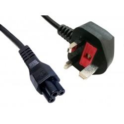 Sandberg 230V Cable UK-Cloverleaf 1.8 m